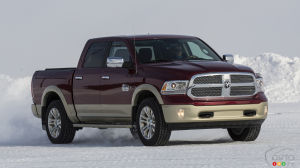 FCA recalling a total of 882,000 RAM pickups