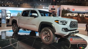 Chicago 2019: An Improved Toyota Tacoma for 2020
