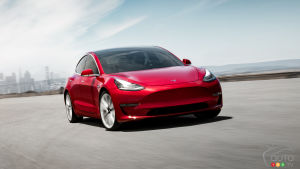 Top 10 Consumer Reports : la Tesla Model 3 la voiture la plus satisfaisante