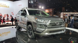 Chicago : une version TRD Off Road pour le Toyota RAV4 2020