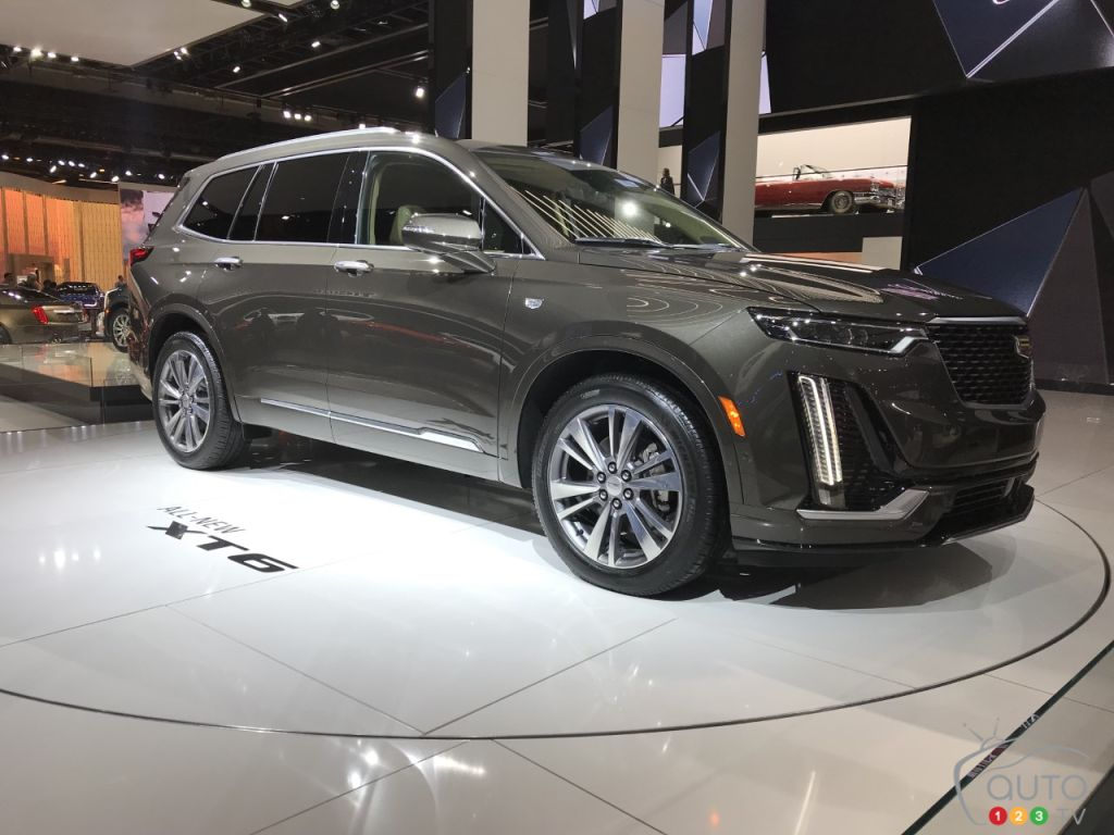 Toronto 2019: 2020 Cadillac XT6 Makes Canadian Debut