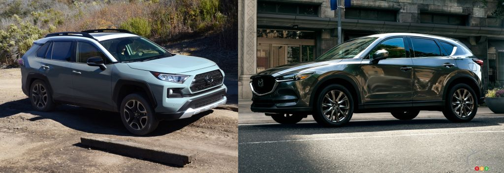 Comparison: 2019 Mazda CX-5 Signature vs 2019 Toyota RAV4 Trail