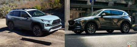 Cx5 Vs Rav4 >> Comparison 2019 Mazda Cx 5 Vs 2019 Toyota Rav4 Car News