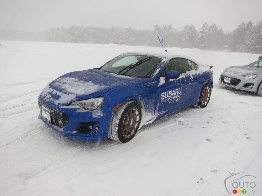 The Winter Driving Experience, According to Subaru