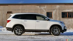 2019 Honda Pilot Review: Pilot v Snow
