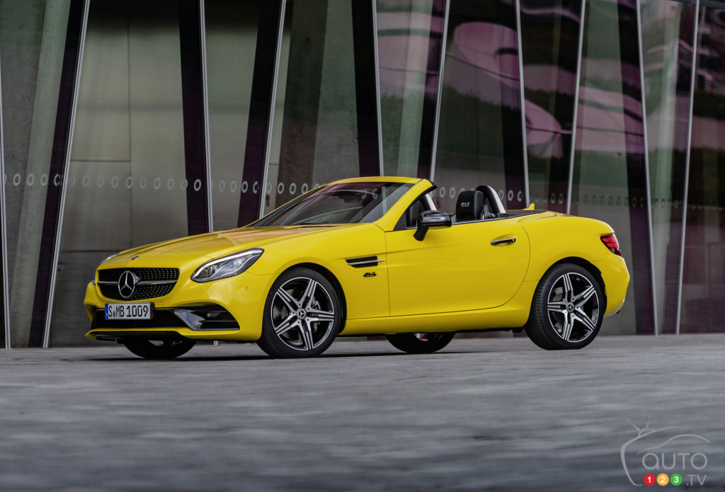 Geneva 2019: Mercedes-Benz to Present 2020 SLC Final Edition