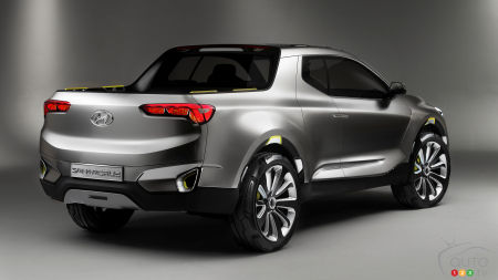 Hyundai Altering Design of its Future Santa Cruz Pickup