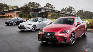 The Next Lexus IS Could get a BMW Engine