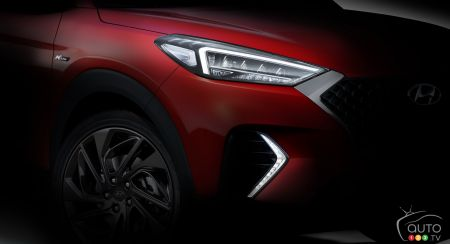 Hyundai Teases Tucson N Line Package Ahead of Geneva Debut