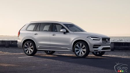 A Mild Evolution for the 2020 Volvo XC90