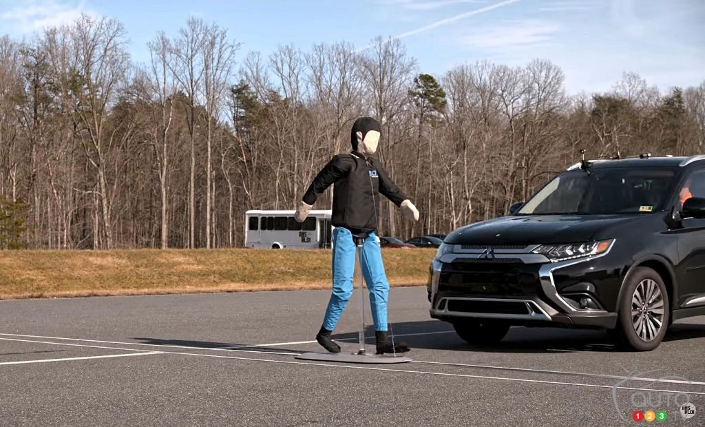 Pedestrian Crash Avoidance: Some Vehicles' Systems Fail IIHS Tests
