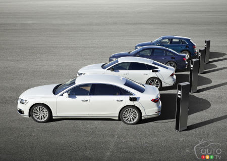 Audi Announces Plug-In Hybrid Versions of the A6, A7, A8 and Q5