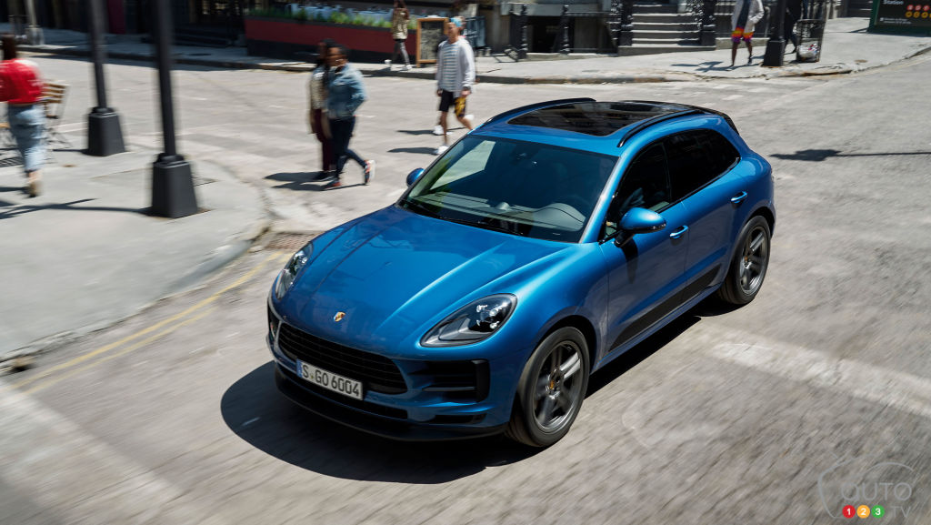 Porsche Might be Prepping an All-Electric Macan