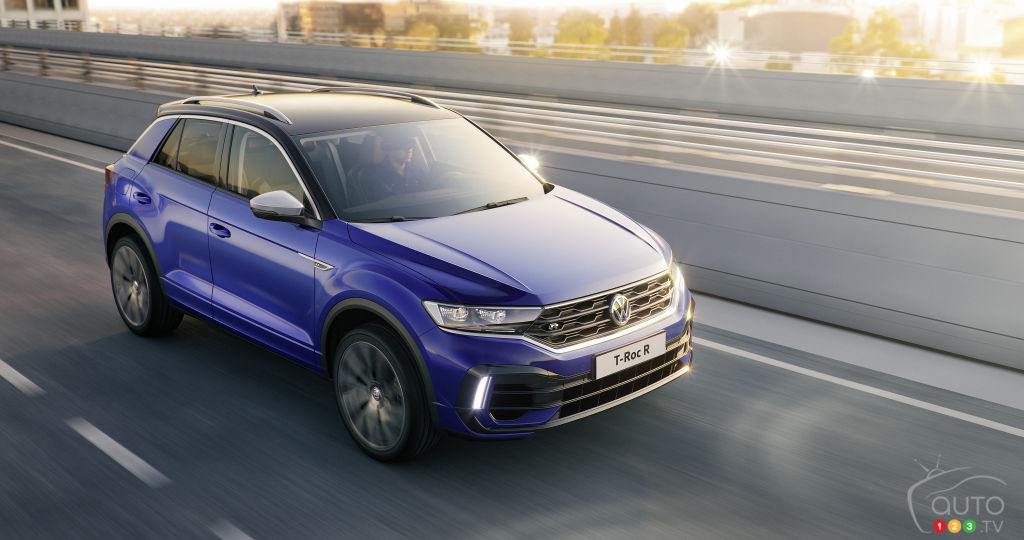 Volkswagen Reveals T-Roc R Variant Ahead of Geneva Debut