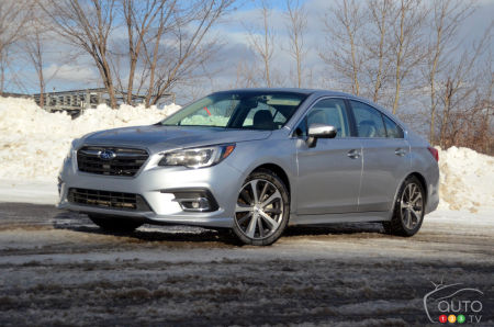 Subaru Legacy 3.6 R >> 2019 Subaru Legacy 3 6r Review Car Reviews Auto123