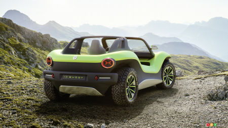 Geneva 2019: Volkswagen Presents ID. BUGGY Electric Concept
