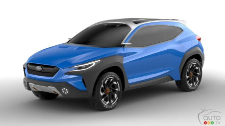 Geneva 2019: Subaru's VIZIV Adrenaline Concept Makes Debut