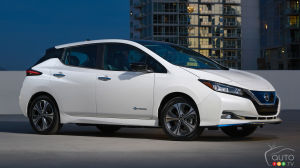 On connait les prix canadiens de la Nissan LEAF PLUS 2019