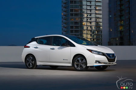 2019 Nissan LEAF PLUS Canadian Pricing Announced