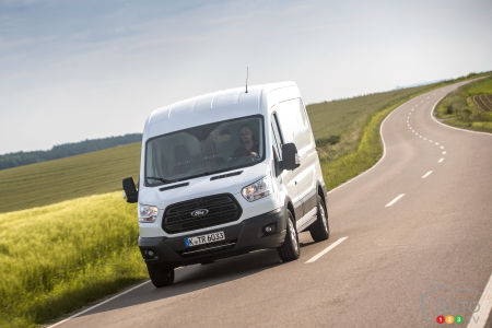 All-Wheel Drive For the Ford Transit in 2020