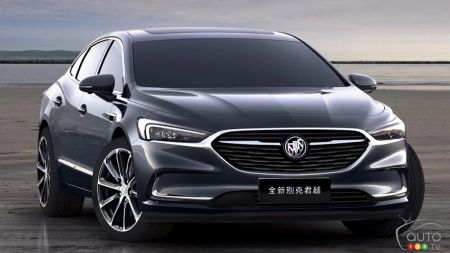 Geneva 2019: A New Buick LaCrosse We Won't See Here