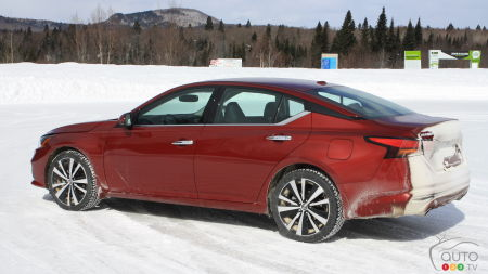 2019 Nissan Altima Reviewed in the Snow: The sedan is not dead – long live the sedan!