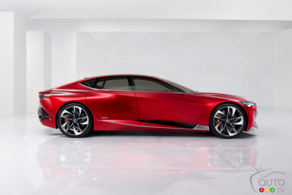 Acura to Present Production-Ready Version of Precision Concept at Pebble Beach