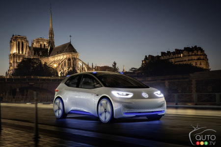 VW Renews Pledge to Rule EV Universe, Will Produce Line of Affordable I.D. Models