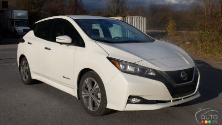 Nissan LEAF Named AJAC's Green Car of the Year