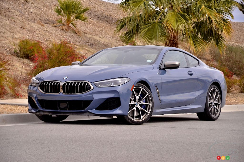 First Drive of the 2019 BMW M850i xDrive, a Magnet for Demerit Points