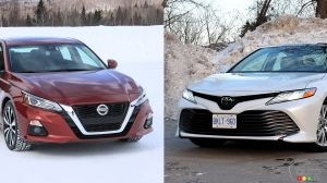 Comparison: 2019 Toyota Camry vs 2019 Nissan Altima
