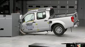 Ford, Nissan and RAM Pickups Perform Best in IIHS Passenger Small-Overlap Crash Test
