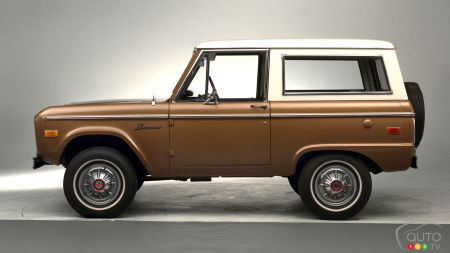Ford Shows New Two-Door Ford Bronco to Dealerships