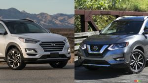 Comparison: 2019 Hyundai Tucson vs 2019 Nissan Rogue
