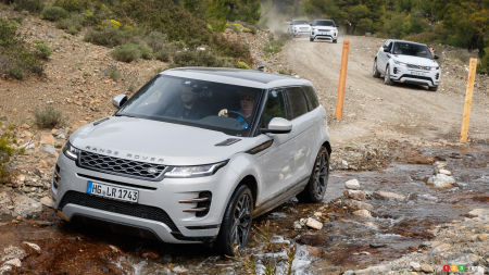 2020 Land Rover Range Rover Evoque First Drive