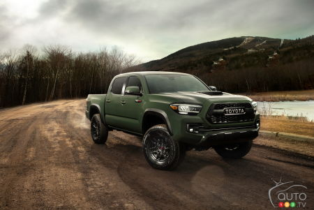 Edmonton 2019: Toyota Debuts the Improved 2020 Tacoma Truck