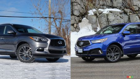 Comparison: 2019 Acura MDX vs 2019 INFINITI QX60