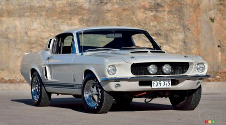 A Rare 1967 Ford Shelby GT350 Will Go Up at Auction