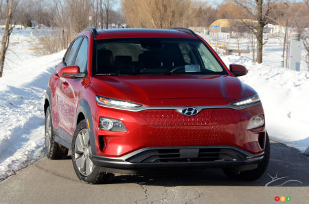 Hyundai Kona Fiche Technique >> Essai Du Hyundai Kona Electrique 2019 Essais Routiers Auto123