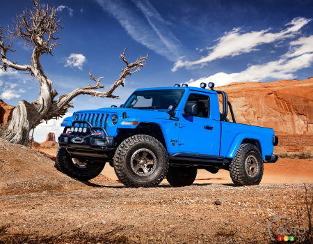 Six Gladiator-Inspired Concepts Debut at Moab Jeep Safari