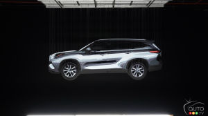 2020 Toyota Highlander Teased Before New York Auto Show Premiere