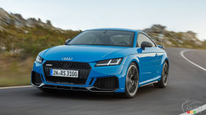 Audi to Present Revised TT RS Version in New York