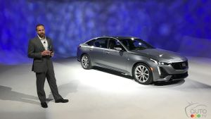 Cadillac Introduces its All-New 2020 CT5 Midsize Sedan