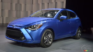 New York 2019: The 2020 Toyota Yaris Hatchback Makes Debut
