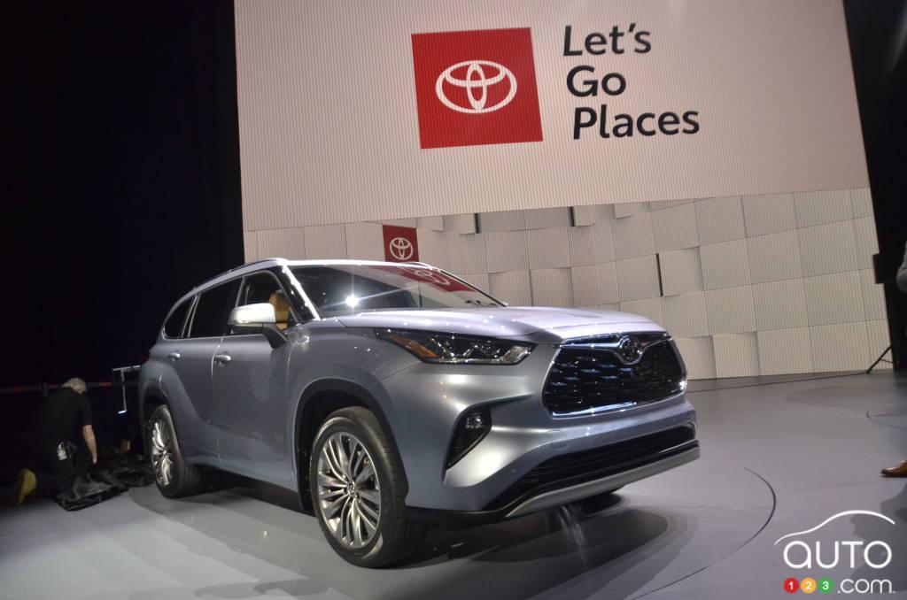 New York 2019: 2020 Toyota Highlander Makes Big Entrance