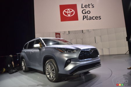 New York 2019: 2020 Toyota Highlander Makes Big Entrance