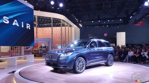 New York 2019: New 2020 Lincoln Corsair Makes Debut