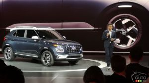 New York 2019: Small Hyundai Venue Crossover Makes Big Debut