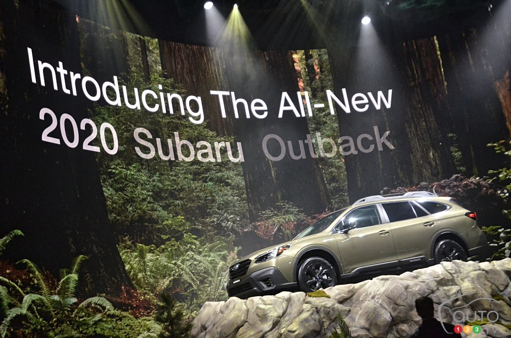 New York 2019: A future founded on tradition for the 2020 Subaru Outback