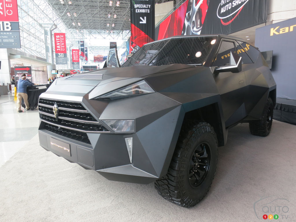 New York 2019 : Les camionnettes du Salon de New York